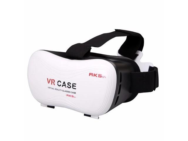 buy online c2e88 03a43 VR Case 3D Glasses VR Virtual Reality For Smartphone With Gamepad -  Newegg.com