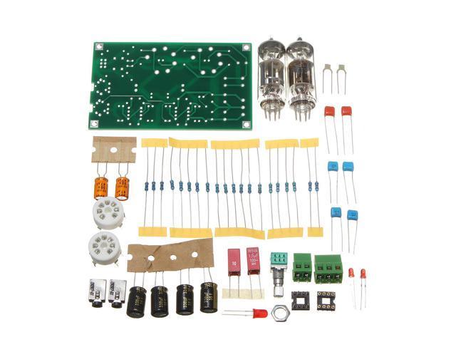DIY Class A 6J5 Vacuum Tube Preamp Preamplifier HIFI Headphone Amplifier  Kit - Newegg com