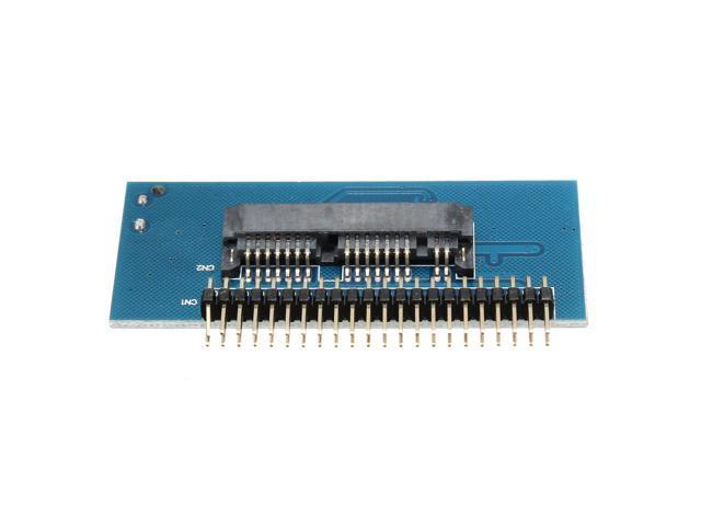 "1.8/"" Micro SATA 16 Pin Female to 1.8/"" ZIF Adapter PCB"