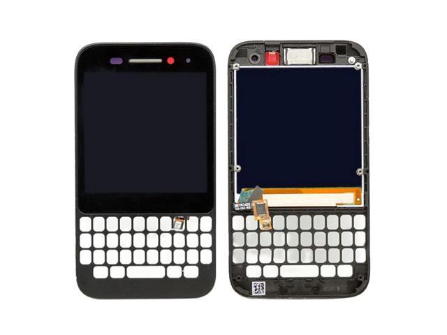LCD Screen and Digitizer Full Assembly with Frame for BlackBerry Q5 (Black)  - Newegg com