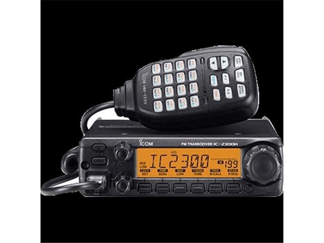 Icom HAM Radio VHF Fixed Mount 65 Watts New Condition 2300H 05, Black -  Newegg com