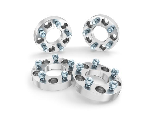 4) 25mm (1 inch) 5x4 5 to 5x4 5 Hubcentric Wheel Spacers (70 5mm
