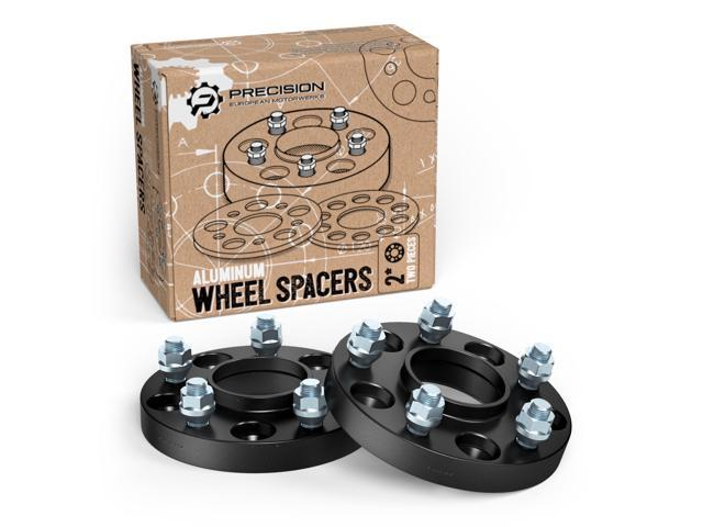 "Wheel Spacers 1.5/"" Adapters Aluminum 5 Bolt Lug Set 4 5x4.5 B2500 B3000 B4000"