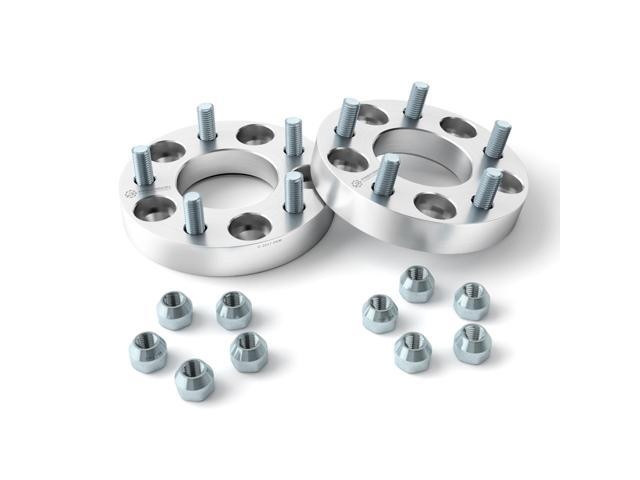 """5x114.3 to 5x110 USA Wheel Adapters 1.25/"""" Thick 12x1.5 Studs x 4 Spacers 5x4.5"""