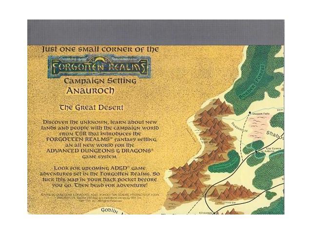 One Small Corner of the Forgotten Realms - Promo Poster Map EX - Newegg com