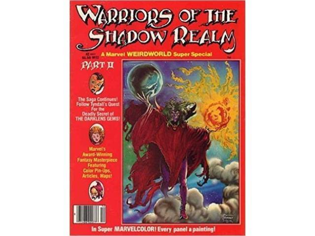 Marvel Super Special #12 - Warriors of the Shadow Realm, Part II VG+ -  Newegg com