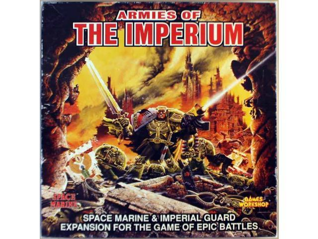 Armies of the Imperium - Space Marine & Imperial Guard Expansion Fair/VG+ -  Newegg com