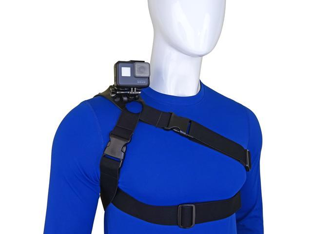 STUNTMAN 360 - Shoulder, Chest and Hip Harness for Action Cameras -  Newegg com