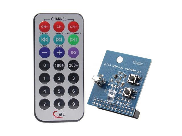 Raspberry pi 3 B+ IR Infrared Remote Expansion Board + Remote Controller  Kit | Transmitter/Receiver/Transceiver Shield | Geekworm IR Control Kit for