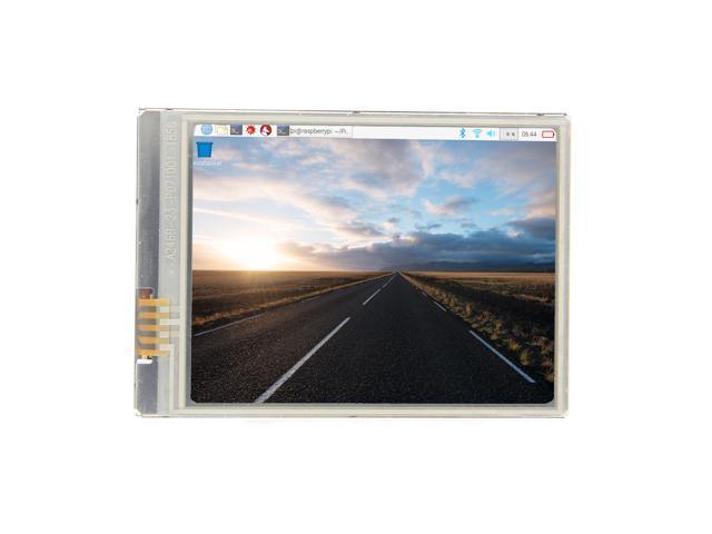 Raspberry Pi Zero WH 2 8 Inch 60+ FPS HD 640x480 Touch Screen, Display/ LCD  /Monitor for Raspberry Pi Zero / Zero W / Zero WH - Newegg com