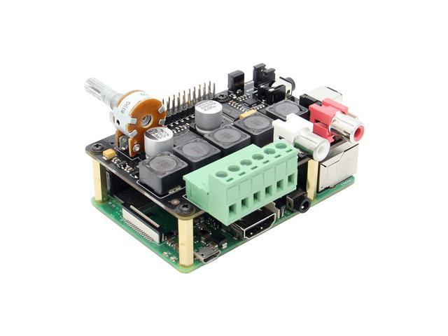 Raspberry Pi DAC+ Full-HD Class-D Amplifier I2S PCM5122 X400 V3 0 DAC AMP  Audio Expansion Board Raspberry Pi 3 Model B+(Plus)/3B Music Player -
