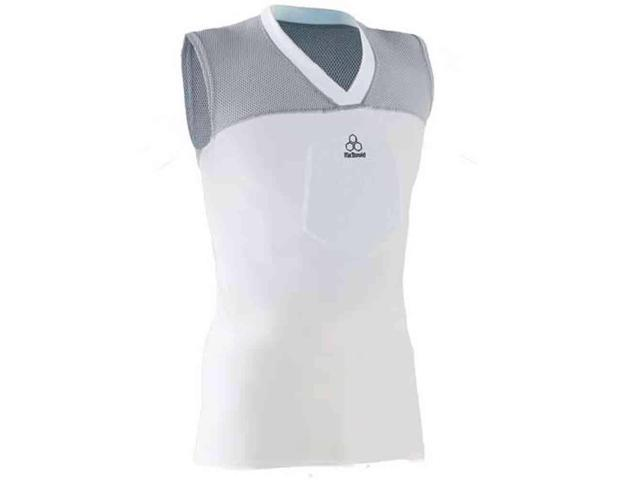 McDavid Classic 7555YC CL Youth Hexpad Girdle With Hardshell Thigh White Large