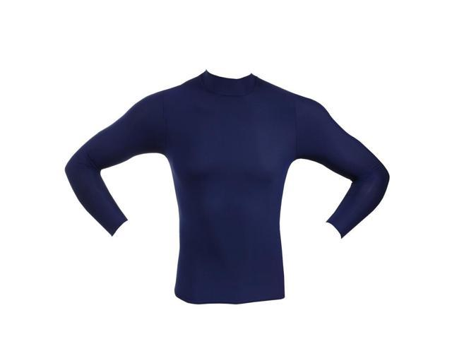 best sneakers 9febf 3d1e1 McDavid Classic 794Y CL Youth Mock Neck Shirt Long Sleeve Navy X-large -  Newegg.com