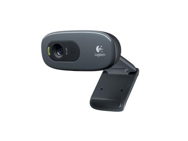 Logitech HD Webcam C270, 720p Widescreen Video Calling and Recording - Newegg.com