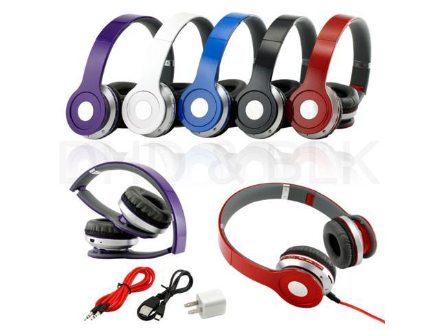 Wireless Earphone Stereo Bluetooth Headphone For Mobile Cell Phone Laptop Tablet Pc With Microphone For Laptop Newegg Com