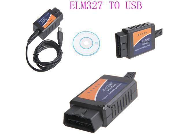 ELM327 USB Interface OBDII OBD2 Diagnostic Auto Car Scanner Scan Tool Cable  V1 5 ELM327 OBD2 OBDII CAN-BUS Auto Car USB Interface Diagnostic Scanner -