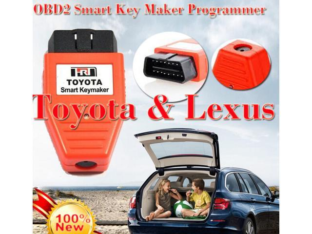 Toyota smart key programmer New For Toyota & Lexus OBD2 OBD Smart Key Maker  Programmer 4D CHIP - Newegg ca