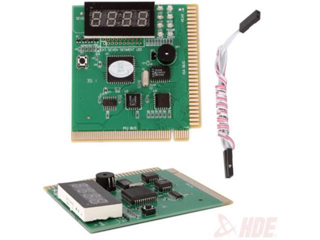 With English Manual 4-Digit Card PC Analysis Diagnostic Motherboard POST Tester FOR Computer PCI
