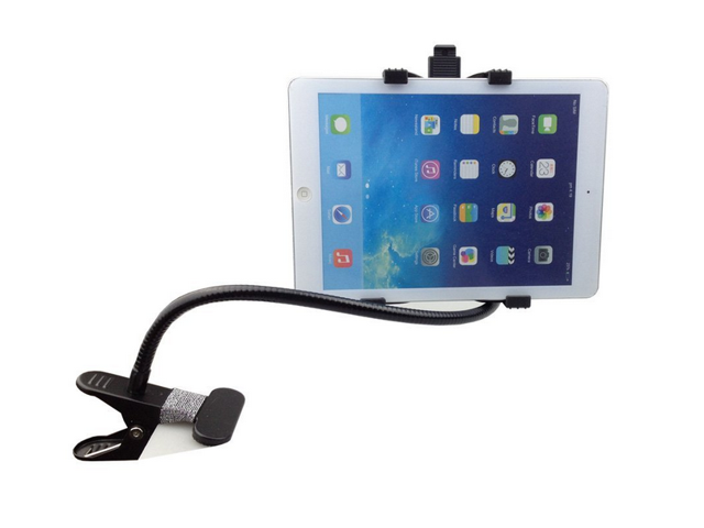 Universal Long Arms Desktop Bed Kitchen Gym Lazy Bracket Mobile Holder  Stand for Apple iPad 1 2 3 4 5 Air, iPad mini, Samsung Galaxy Tab 2/ 3/4,  ...