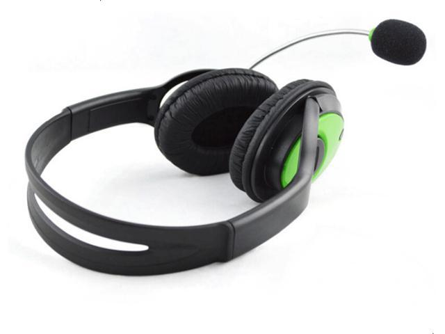 Live Headset Headphone With Microphone for XBOX 360 Slim NEW US Headset  Headphone with Mic Compatible with Xbox 360 Wireless Controller - Newegg com