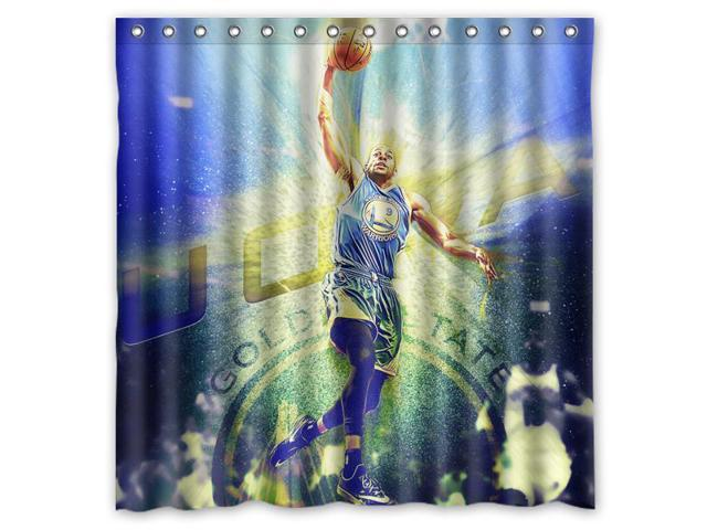 "New Waterproof New York Knicks Basket Ball Custom Shower Curtain 60 x 72 /"""