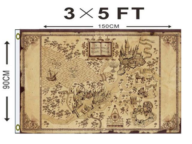 Wizarding World Map Harry Potter Flag 150x90 CM - Newegg.com on resident evil map, cancer map, rocky map, tv map, star fleet universe map, lord of the rings map, anime map, disney map, sherlock holmes map, diagon alley map, mauraders map, wizard of oz map, mario map, matrix map, marauder's map, cars map, marvel universe map, alice in wonderland map, middle-earth map, narnia map,