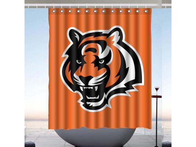 e22b6d00 Cincinnati Bengals NFL 02 Design Polyester Fabric Bath Shower Curtain 60x72  Inch - Newegg.com