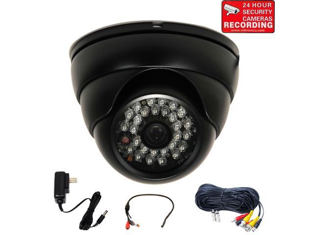 """Weatherproof Security Camera with 1//3/"""" SONY EFFIO CCD CCTV Microphone Audio WQ7"""