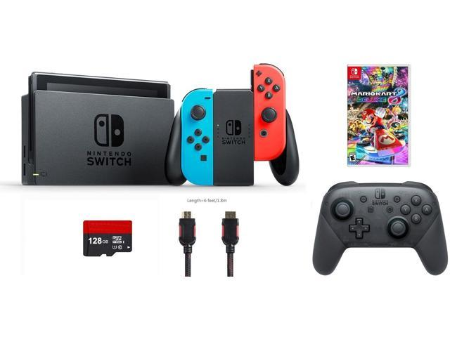 Nintendo Switch Bundle 6 Items Nintendo Switch 32gb Console Red
