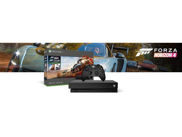 Xbox One X Forza Deluxe Racing Wheel Simulation Bundle: Forza Motorsport 7,  Forza Horizon 4, Logitech G920 Racing Wheel (Xbox/PC), Xbox One X 4K HDR