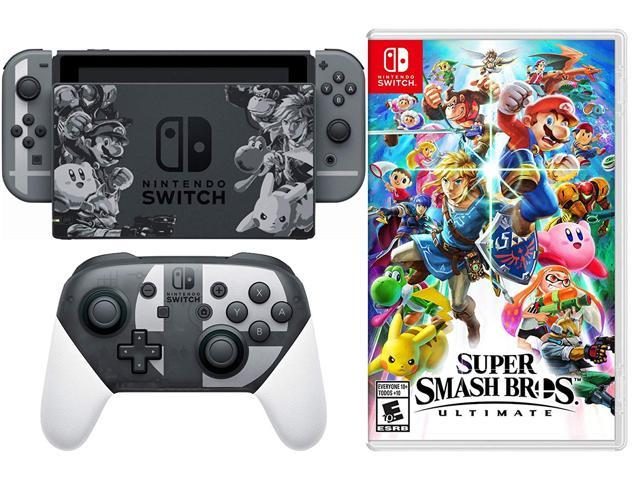 super smash bros switch limited edition