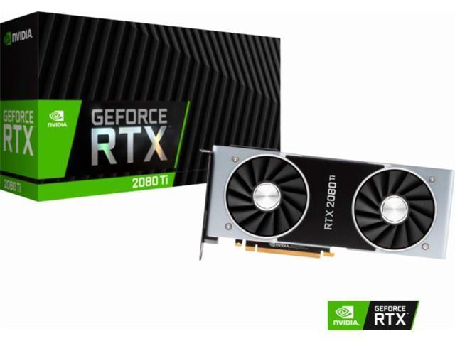 NVIDIA GeForce RTX 2080 Ti Founders Edition 11GB GDDR6 PCI Express 3 0  Graphics Card - Newegg com