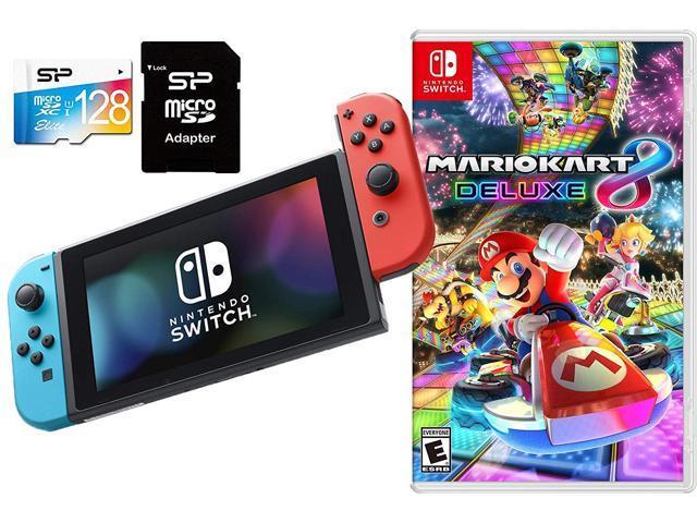 Nintendo Switch Mario Kart 8 Deluxe Bundle 32gb Nintendo
