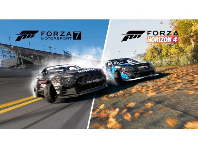 Forza Horizon 4 and Motorsport 7 Digital Download Card - Two