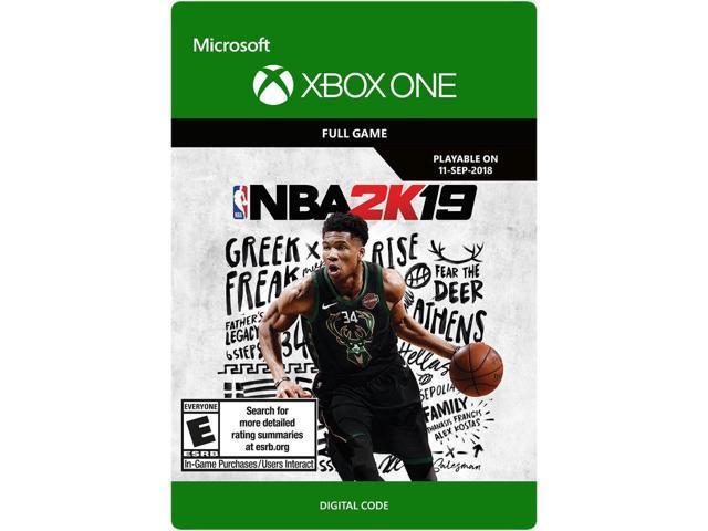NBA 2K19 Xbox One [Download Card] - Newegg ca