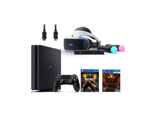 PlayStation VR Start Bundle 5 Items:VR Headset,Move Controller,PlayStation  Camera Motion Sensor,PlayStation 4 Call of Duty Black Ops IIII,VR game disc