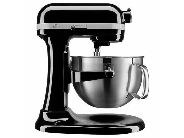 KitchenAid Professional 600 Series 6-qt Bowl-Lift Stand Mixer Black