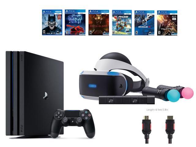 PlayStation VR Starter Bundle (10 Items): PlayStation 4 Pro