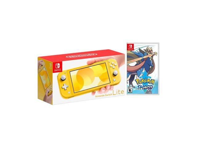 Nintendo switch lite sword and shield