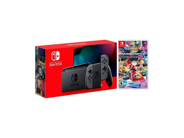 2019 New Nintendo Switch Gray Joy Con Improved Battery Life