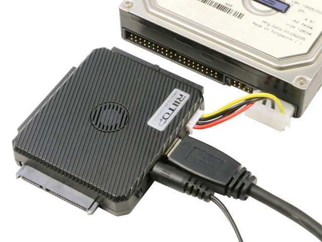 """Capacity up to 6TB All in 1 2.5/"""" 3.5/"""" External HDD SATA Case USB 3.0 Enclosure"""