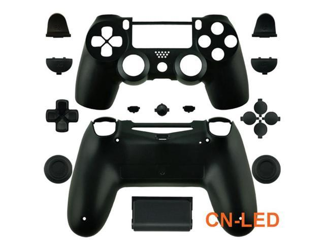 69b77f78 WPS Matte black Controller Case Collection Full Housing Shell + Full buttons  for PS4 Playstation 4 Dualshock 4 ( GEN 1 Controllers ONLY) - Newegg.com