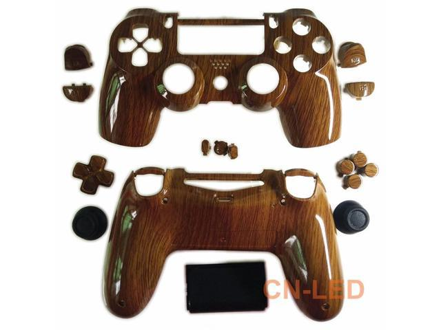 Hydro Dipped Wooden Grain Replacement Designer Housing Shell for PS4  Controller - Newegg com