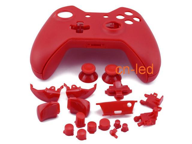 Matte RED Full Shell Case Cover Replacement Kit for Xbox One Wireless  Controller mod kit - Newegg com