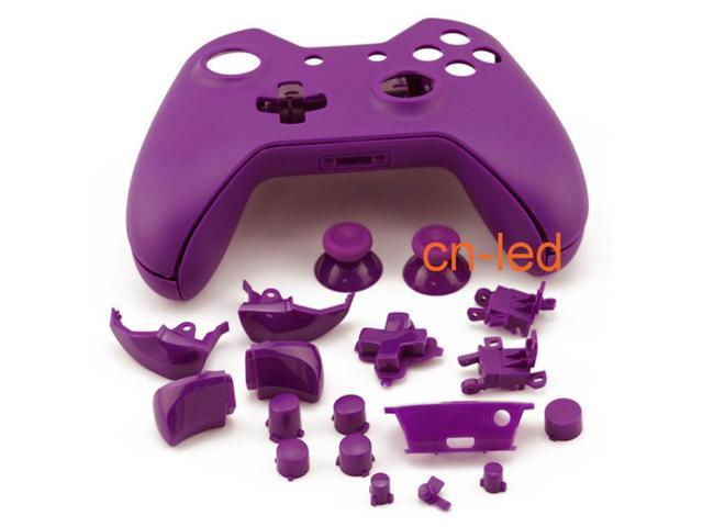 Matte Purple Full Shell Case Cover Replacement Kit for Xbox One Wireless  Controller mod kit - Newegg com