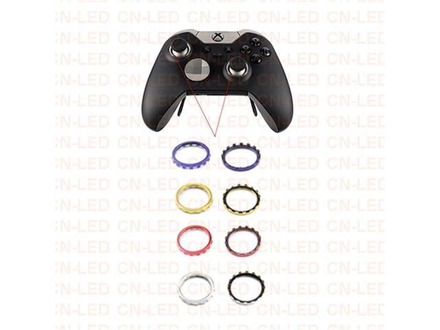 Custom Design Chrome Silver Thumbstick Accent Rings Circle for Xbox One  Elite Controller Circle - Newegg com