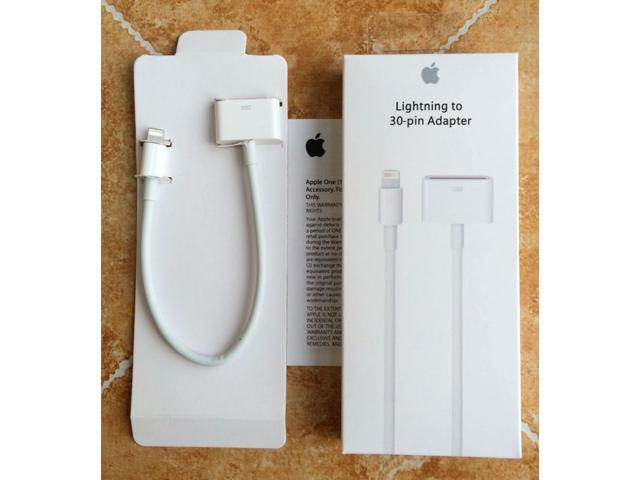 New Original OEM Apple Lightning to 30-pin Adapter (0.2 m) MD824ZM/