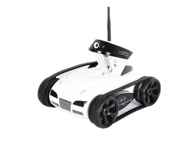 RC Car Tank Toy With Camera WiFi Remote App-Control IPad Iphone Itouch  Wireless Spy White Colour - Newegg com