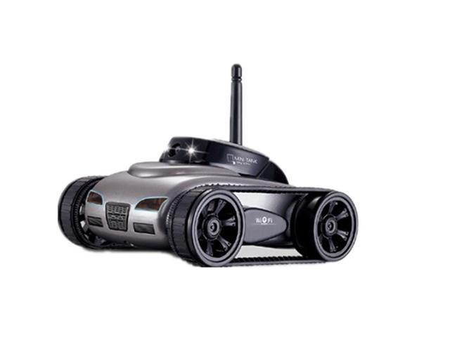 RC Car Tank Toy With Camera WiFi Remote App-Control IPad Iphone Itouch  Wireless Spy Black Colour - Newegg com