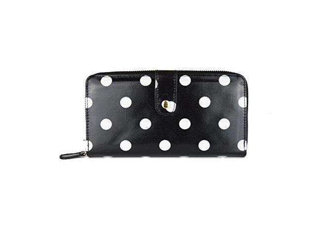 Miss Lulu Designer Oilcloth Owl Spot Polka Dots Butterfly Folded Zip Wallet P...